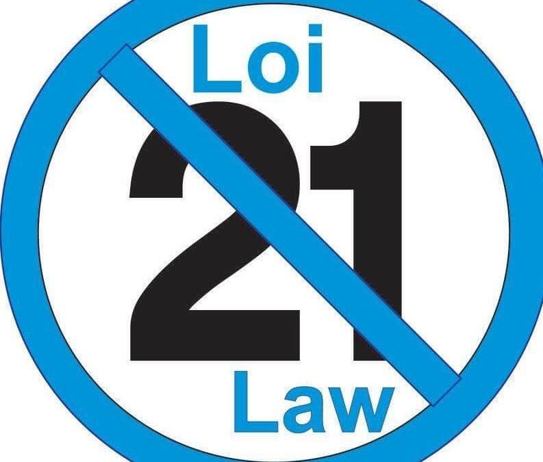 Law 21, One year later – Loi 21, un année après
